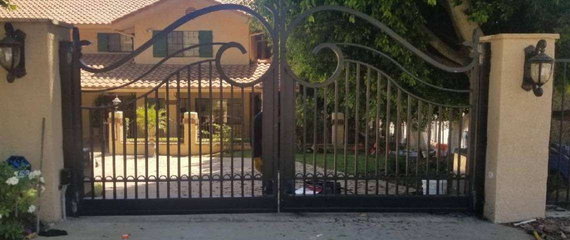 New Automated Driveway Gates Pedestrian Entry Gates Amp A